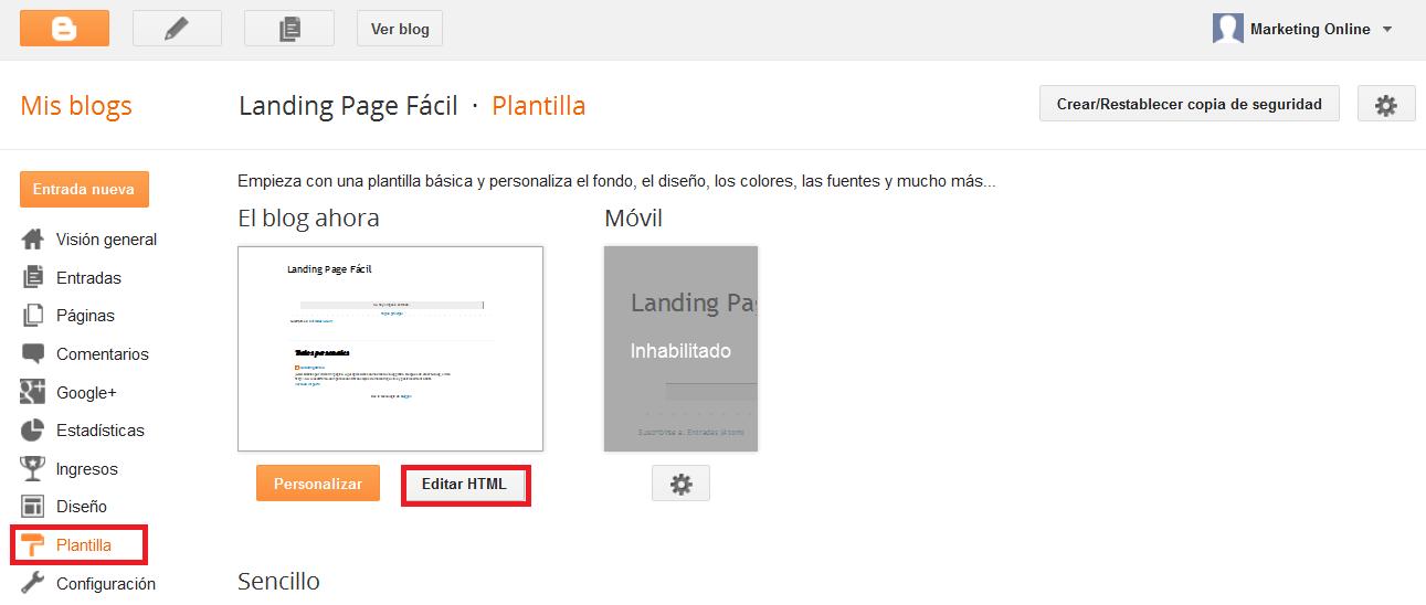 oscar feito landing page
