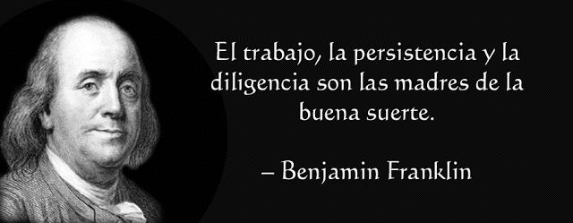 Frase Benjamin Franklin