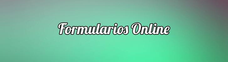 Formularios Online