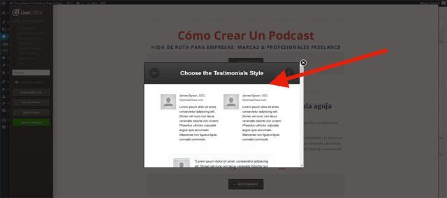 Landing Pages Crear