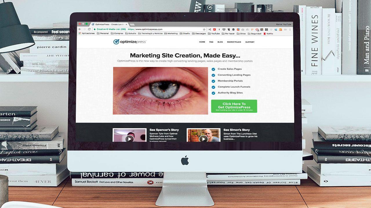 OptimizePress Herramienta De Marketing