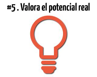 Valora El Potencial Real