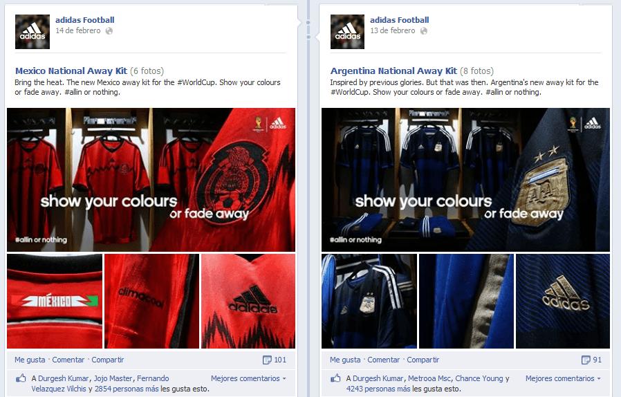 Publicaciones En Facebook De Adidas