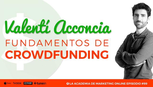 Crowdfunding Valentí Acconcia