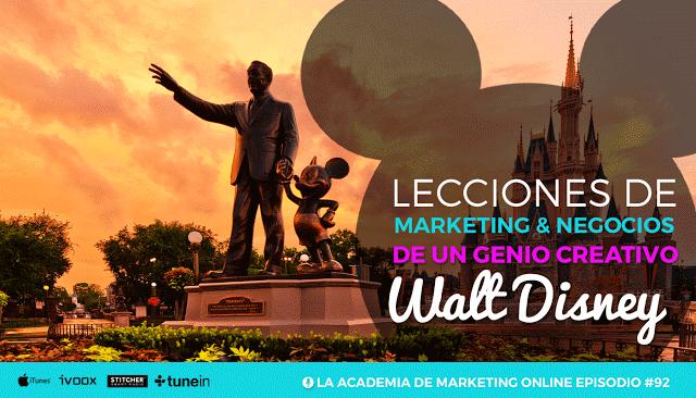 Lecciones de Walt Disney