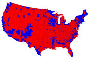 Mapa Barack Obama
