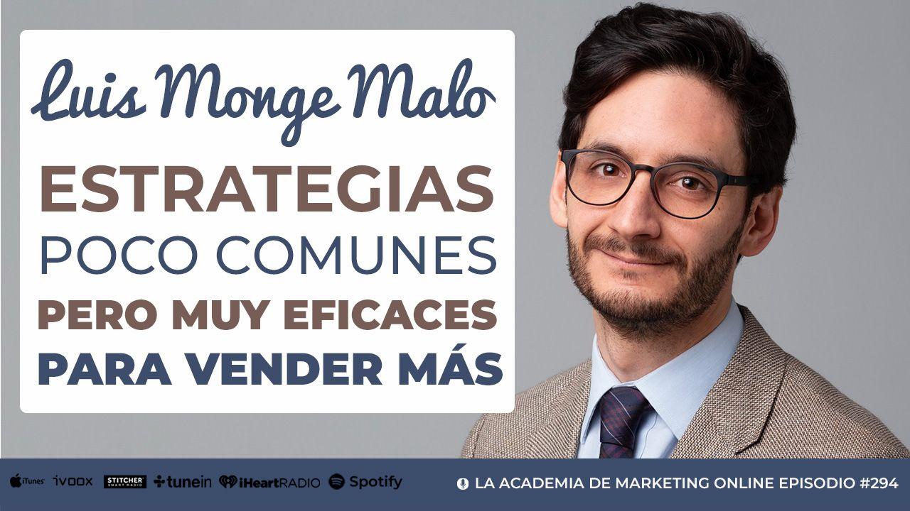 Luis Monge Malo - Estrategias de Ventas